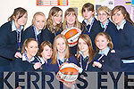 The BallyB Saints: The Under 19 Senior girls basketball team, students at St Jospeh's Secondary School in Ballybunion, who will play in the All Ireland basketball finals in January. Front l-r Ciara Kennelly, Louise O'Sullivan, Michelle Rowan, Heather Moran and Laura Finuacane. Back l-r Maire Hitchen, JoJo O'Sullivan, Nicola Kissane, Joanne Riordan, Maura Doran, Sarah Larkin and Rita O'Carroll.    Copyright Kerry's Eye 2008