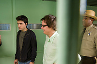 Sex Drive (2008) <br /> Josh Zuckerman &amp; Clark Duke<br /> *Filmstill - Editorial Use Only*<br /> CAP/MFS<br /> Image supplied by Capital Pictures