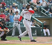 Pawtucket Red Sox at Rochester Red Wings.July 6th 2007 .Photo By:  Mike Janes