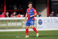 Jack Munns of Dagenham and Redbridge during Dagenham & Redbridge vs Wrexham, Vanarama National League Football at the Chigwell Construction Stadium on 13th October 2018