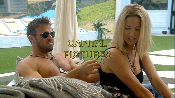 Celebrity Big Brother 2017<br /> Chad Johnson and Sarah Harding.<br /> *Editorial Use Only*<br /> CAP/KFS<br /> Image supplied by Capital Pictures