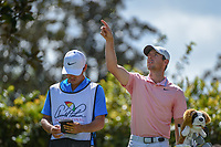 Rory McIlroy (NIR) checks the wind on the tee on 2 during round 3 of the Arnold Palmer Invitational at Bay Hill Golf Club, Bay Hill, Florida. 3/9/2019.<br /> Picture: Golffile | Ken Murray<br /> <br /> <br /> All photo usage must carry mandatory copyright credit (© Golffile | Ken Murray)