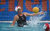 Mar 11, 2015; Claremont, CA, USA; Occidental College Tigers goalkeeper Kelly Fitzgerald against the Pomona-Pitzer Sagehens at Pomona-Pitzer. Photo by Kirby Lee
