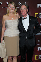 "LOS ANGELES, CA, USA - MARCH 04: Lisa Koontz, Bill Nye at the Premiere Of FOX's ""Cosmos: A SpaceTime Odyssey"" held at The Greek Theatre on March 4, 2014 in Los Angeles, California, United States. (Photo by Xavier Collin/Celebrity Monitor)"