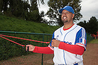 18 August 2010: Keino Perez of Team France is seen prior to the France 7-3 win over Ukraine, at the 2010 European Championship, under 21, in Brno, Czech Republic.