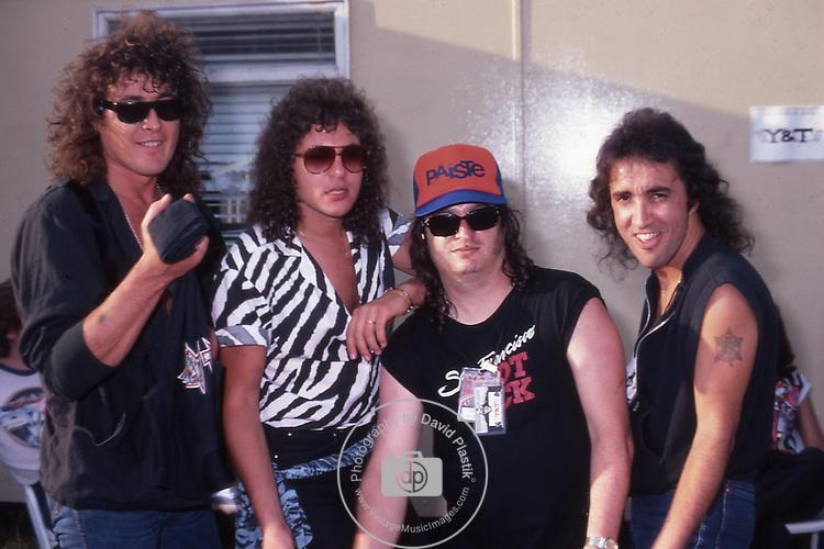 Y & T Donnington Monsters of Rock 1984 Donnington 1984