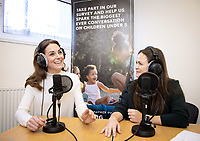 Duchess of Cambridge Joins Giovanna Fletcher For Happy Baby Podcast