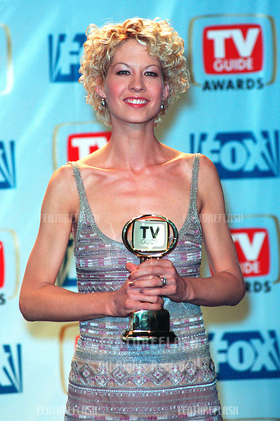 "01FEB99:  ""Dharma & Greg"" star JENNA ELFMAN at the 1st Annual TV Guide Awards in Los Angeles. She won for Favorite Actress in a Comedy..© Paul Smith / Featureflash"