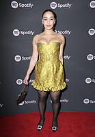 "07 February 2019 - Westwood, California - Jorja Smith. Spotify ""Best New Artist 2019"" Event held at Hammer Museum. <br /> CAP/ADM/PMA<br /> ©PMA/ADM/Capital Pictures"