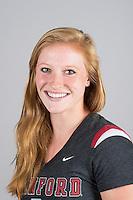 STANFORD, CA - Pauline Hanset of Stanford University Women's Gymnastics.