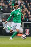 13.04.2019, Weserstadion, Bremen, GER, 1.FBL, Werder Bremen vs SC Freiburg<br /> <br /> DFL REGULATIONS PROHIBIT ANY USE OF PHOTOGRAPHS AS IMAGE SEQUENCES AND/OR QUASI-VIDEO.<br /> <br /> im Bild / picture shows<br /> Nuri Sahin (Werder Bremen #17), <br /> <br /> Foto &copy; nordphoto / Ewert