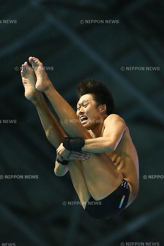 Genki Yasunaga, <br /> SEPTEMBER 23, 2013 - Diving : <br /> All Japan Diving Championship <br /> Men's 10m platform Final <br /> at Tatsumi International Swimming Pool, Tokyo, Japan. <br /> (Photo by YUTAKA/AFLO SPORT)