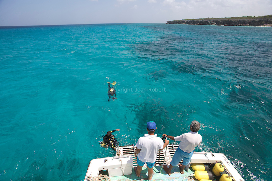 Diving in Maria la Gorda peninsula de Guanahacabibes (western point of Cuba).