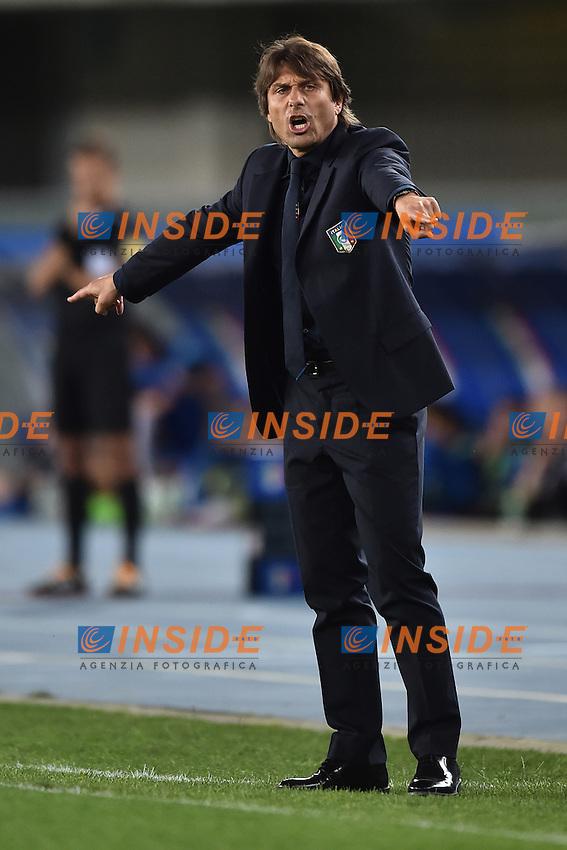 Antonio Conte, allenatore dell'Italia.<br /> Verona 28-05-2016 Stadio Marcantonio Bentegodi.<br /> Italia - Finlandia<br /> Friendly Match. Foto Andrea Staccioli / Insidefoto