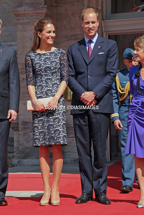 """WILLIAM_KATE OFFICIAL WELCOME AND NCR CEREMONY.Rideau Hall, Government House, Ottawa_30/06/2011.Mandatory Credit Photo: ©DIAS-DIASIMAGES..**ALL FEES PAYABLE TO: """"NEWSPIX INTERNATIONAL""""**..IMMEDIATE CONFIRMATION OF USAGE REQUIRED:.DiasImages, 31a Chinnery Hill, Bishop's Stortford, ENGLAND CM23 3PS.Tel:+441279 324672  ; Fax: +441279656877.Mobile:  07775681153.e-mail: info@newspixinternational.co.uk"""