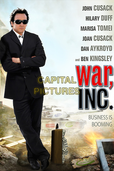 POSTER ART.in War, Inc. .*Filmstill - Editorial Use Only*.CAP/FB.Supplied by Capital Pictures.