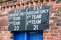 A section of Huddersfield Town's old ground, outside the John Smith's Stadium<br /> <br /> Photographer Alex Dodd/CameraSport<br /> <br /> The Premier League - Huddersfield Town v Swansea City - Saturday 10th March 2018 - John Smith's Stadium - Huddersfield<br /> <br /> World Copyright &copy; 2018 CameraSport. All rights reserved. 43 Linden Ave. Countesthorpe. Leicester. England. LE8 5PG - Tel: +44 (0) 116 277 4147 - admin@camerasport.com - www.camerasport.com