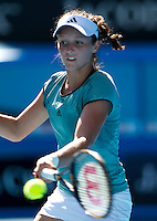 Laura Robson (GBR) against Karolina Pliskova (CZE) (6) in the Final of the Junior Girls Singles. Pliskova beat Robson 6-1 7-6..International Tennis - Australian Open Tennis - Sat 30  Jan 2010 - Melbourne Park - Melbourne - Australia ..© Frey - AMN Images, 1st Floor, Barry House, 20-22 Worple Road, London, SW19 4DH.Tel - +44 20 8947 0100.mfrey@advantagemedianet.com