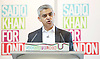 Sadiq Khan <br /> Labour mayor of London candidate speech at the university he attended, on increasing opportunities for all Londoners at London Metropolitan University, Holloway, London, Great Britain <br /> 25th April 2016 <br /> <br /> Sadiq Khan <br /> <br /> Photograph by Elliott Franks <br /> Image licensed to Elliott Franks Photography Services