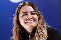 Anna Todd<br /> Roma 13-01-2017. Centro Commerciale Porta di Roma. La scrittrice Anna Todd presenta ai fans il suo nuovo libro, Nothing Less. La scrittrice e' divenuta famosa su Wattpad, la più' grande community per scrittori self-published, con una serie di libri sugli One Direction<br /> Rome January 13th 2017. Porta di Roma shopping mall. Writer Anna Todd meets her fans to present her new book 'Nothing less'. The writer, has become famous on Wattpad, the biggest community for self-published writers, with a serie of books about the group One Direction.<br /> Foto Samantha Zucchi Insidefoto