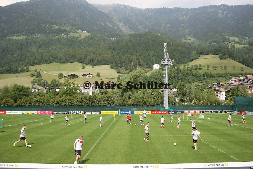 Training der Nationalmannschaft - Trainingslager der Deutschen Nationalmannschaft zur WM-Vorbereitung in St. Martin