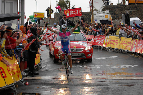 13th September 2009. Vuelta a Espana, Stage 14 Granada - Sierra de la Pandera, Lampre - Ngc, Cunego Damiano, Sierra de la Pandera . Photo: Stefano Sirotti/ActionPlus.