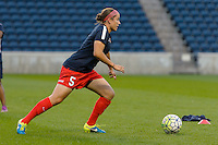 Chicago, IL - Saturday Sept. 24, 2016: Whitney Church prior to a regular season National Women's Soccer League (NWSL) match between the Chicago Red Stars and the Washington Spirit at Toyota Park.
