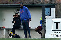 Leyton Athletic manager Eli Benoit during Leyton Athletic vs Woodford Town, Essex Senior League Football at Wadham Lodge Sports Ground on 1st December 2018