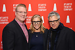 Jeffory Lawson, Mary McCann and Neil Pepe during the Opening Night after party for Atlantic Theater Company's 'The Mother' at The Gallery at the Dream Downtown on March 11, 2019 in New York City.