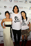 Q'ORIANKA KILCHER, CHASKE SPENCER, TINSEL KOREY. Red Carpet arrivals to the launch event of Be The Shift at Industry Night Club. West Hollywood, CA, USA. 6/14/2010..