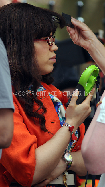 WWW.ACEPIXS.COM . . . . .  ....April 28 2009, New York City....Actress America Ferrera was on the set of the TV show 'Ugly Betty' on April 28 2009 in New York City....Please byline: AJ Sokalner - ACEPIXS.COM..... *** ***..Ace Pictures, Inc:  ..tel: (212) 243 8787..e-mail: info@acepixs.com..web: http://www.acepixs.com