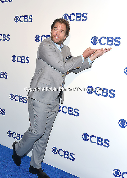 Michael Weatherly attends the CBS Upfront 2016-2017 on May 18, 2016 at the Oak Room at the Plaza Hotel in New Yorik, New York, USA.<br /> <br /> photo by Robin Platzer/Twin Images<br />  <br /> phone number 212-935-0770