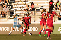 Boyds, MD - Saturday June 03, 2017: Cheyna Williams, Morgan Brian during a regular season National Women's Soccer League (NWSL) match between the Washington Spirit and Houston Dash at Maureen Hendricks Field, Maryland SoccerPlex.