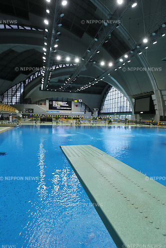 General view,<br /> JUNE 5, 2015 - Diving :<br /> Japan Indoor Diving Championship<br /> at Tatsumi International Swimming Pool, Tokyo, Japan. <br /> (Photo by Yohei Osada/AFLO SPORT)