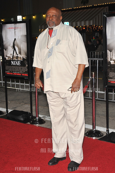 "Louis Gossett Jr. at the Los Angeles premiere of ""Nine"" at the Mann Village Theatre, Westwood..December 9, 2009  Los Angeles, CA.Picture: Paul Smith / Featureflash"