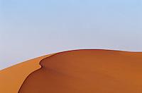 Desert sand dune.