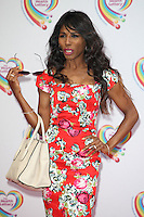 Sinitta arriving for the Health Lottery Tea Party, The Savoy, London. 02/06/2014 Picture by: Alexandra Glen / Featureflash