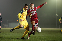 Lewwis Spence of Hornchurch during Chelmsford City vs AFC Hornchurch, BBC Essex Senior Cup Football at Melbourne Park on 4th February 2019