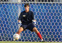 Florida International University men's soccer player Rodney Greiling (00) plays against Florida Atlantic University on August 28, 2011 at Miami, Florida.  The game ended in a 1-1 overtime tie. .