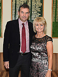 Lady Captain Sandra Kierans pictured with husband Noel at the Captains dinner. Photo:Colin Bell/pressphotos.ie