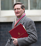 Day before the Budget 2013J..Dominic Grieve outside Downing Street today 19.3.13.....Pic by Gavin Rodgers/Pixel 8000 Ltd
