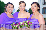 Bridesmaids at the McSweeney and O'Dee wedding in the Heights Hotel, Killarney on Saturday were Kathleen Devlin, Sheila McSweeney and Elizabeth Heffernan....