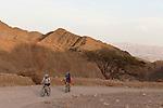 Israel, the Negev. Wadi Shlomo in Eilat Mountains