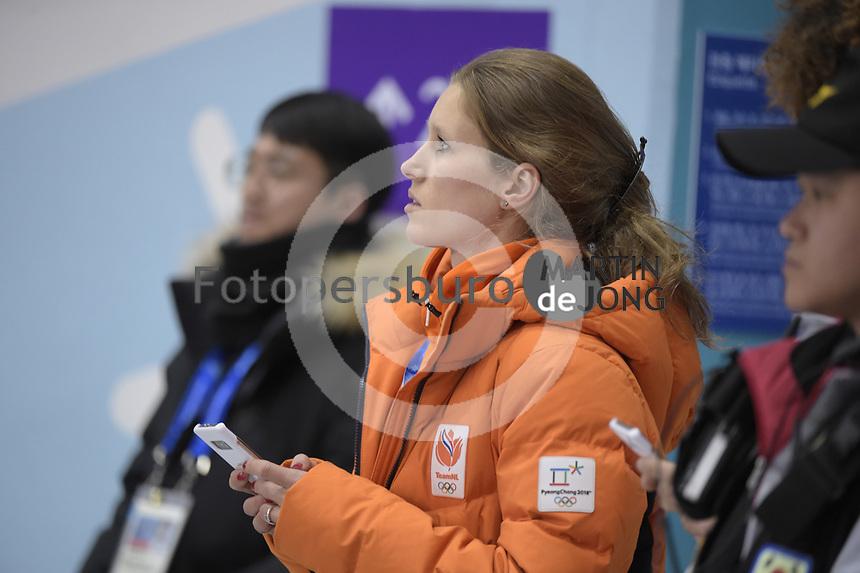 OLYMPIC GAMES: PYEONGCHANG: 22-02-2018, Gangneung Ice Arena, Short Track, Rianne de Vries (NED), ©photo Martin de Jong