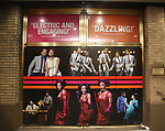 "Theatre Marquee for Ephraim Sykes, Jeremy Pope, Derrick Baskin, Jawan M. Jackson, and James Harkness  starring in ""Ain't Too Proud: The Life And Times Of The Temptations"" after their first Broadway preview performance at The Imperial Theatre on February 28, 2019 in New York City."
