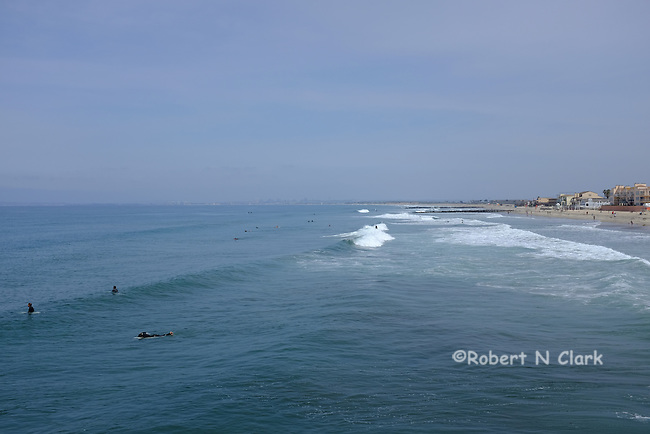 Imperial Beach Pier and surrounding area