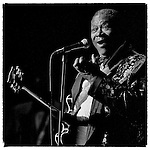 BB King plays Gammage Auditorium at Arizona State University in this undated photo from Craig's college archives. Ca. 1988-1992