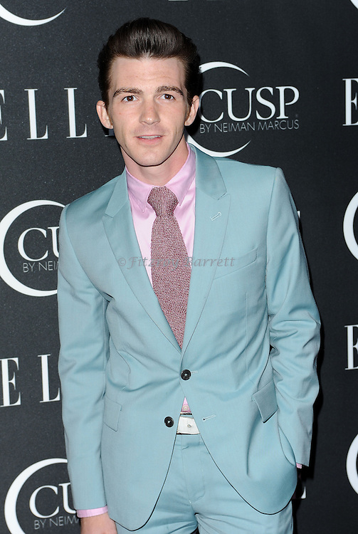 Drake Bell arriving at 'ELLE 5th Annual Women In Music Concert Celebration' held at the Avalon Los Angeles, CA. April 22, 2014.