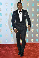 Mahershala Ali <br /> The EE British Academy Film Awards 2019 held at The Royal Albert Hall, London, England, UK on February 10, 2019.<br /> CAP/PL<br /> ©Phil Loftus/Capital Pictures