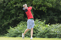 Ben Crawford (Greenacres) during the final round of the Connacht Boys Amateur Championship, Oughterard Golf Club, Oughterard, Co. Galway, Ireland. 05/07/2019<br /> Picture: Golffile | Fran Caffrey<br /> <br /> <br /> All photo usage must carry mandatory copyright credit (© Golffile | Fran Caffrey)